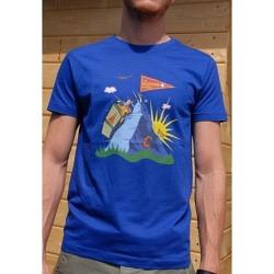 """T-Shirt bedruckt Design """"Matterhorn"""""""