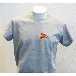 T-Shirt gris fanion Routiers