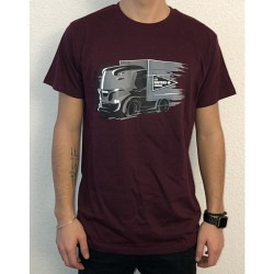 Bordeau T-Shirt - Lastwagen